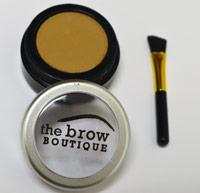 blonde eyebrow powder