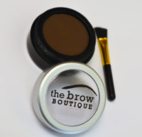 dark brown eyebrow powder