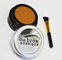light-brown eyebrow powder