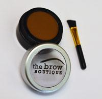 medium brown eyebrow powder